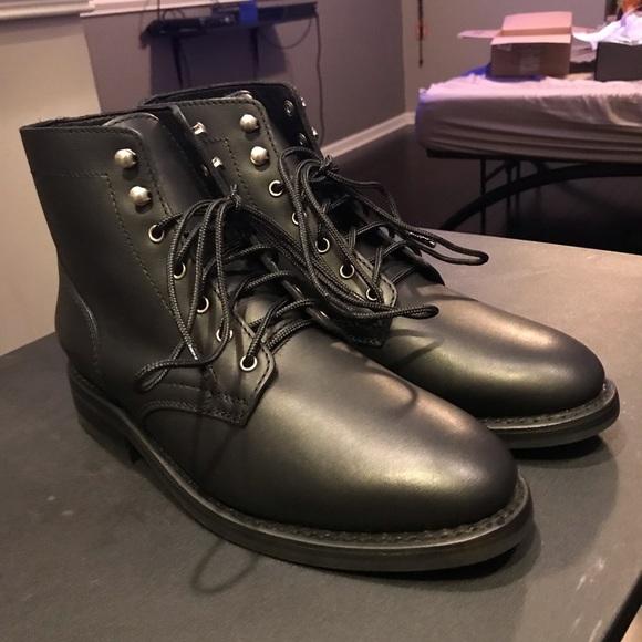 096c18a1917 Thursday Boot Black Matte Rugged Presidents